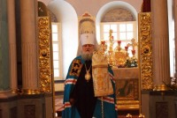 Митрополит Ярославский и Ростовский Пантелеймон в Свято-Димитровском храме