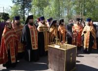 </p> <p>Панихида на Ростовском воинском кладбище 9 мая 2011 </p> <p>года.
