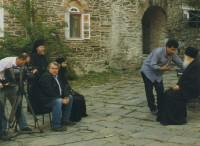 Подготовка к интервью архимандрита Ефрема