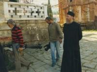 В Свято-Андреевском скиту Ватопедского монастыря