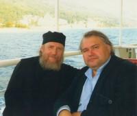 Архимандрит Сильвестр и Аркадий Мамонтов, 2011 г