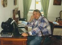 Тележурналист Аркадий Мамонтов, создатель фильма о Ватопедском монастыре, 2011 г