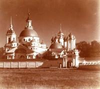 Спасо-Яковлевский монастырь. Вид с северо-запада. 1911 г.