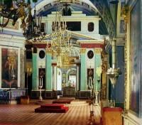 Интерьер собора святителя Димитрия Ростовского. 1911 г.
