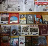 Книжная выставка в монастырской библиотеке. Май 2015 г.