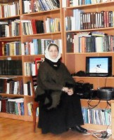 Н.А. Левкина,  помощник наместника монастыря по образовательной и педагогической деятельности, автор и ведущая беседы «Семья – малая церковь»