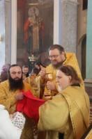 Причастие в день празднования памяти Свт. Димитрия Ростовского 10 ноября 2012 г