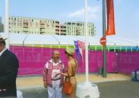 Беседа в Олимпийской деревне, 2012 г.