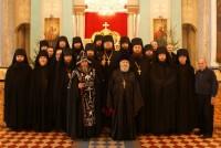 Братия Спасо-Яковлевского Димитриева монастыря. Фото 2012 г.