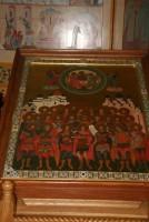 Возле этой иконы «Собор святых воинов» совершаются молебны перед спортивными состязаниями. Многие потом приезжают, благодарят. Кто-то стал чемпионом России, кто-то – мира...