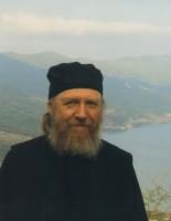 Архимандрит Сильвестр на Афоне в 2011 г.