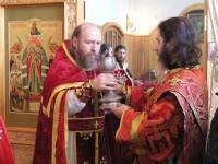 Архимандрит Сильвестр – Божественная литургия в храме св. Андрея Стратилата