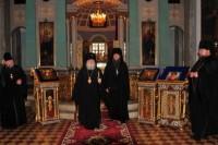 В Димитриевском храме Спасо-Яковлевского монастыря, 2011 г.