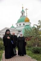 Встреча митрополита Пантелеимона в Спасо-Яковлевском монастыре  Спасо-Яковлевский Дмитриев монастырь
