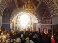 Божественная литургия в день памяти Святителя Димитрия в Спасо-Яковлевском монастыре 10 ноября 2013 г.