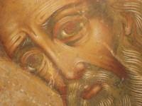 Апостол Лука. Деисусный чин иконостаса Зачатиевского храма