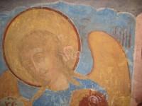 Архангел Гавриил. Деисусный чин иконостаса Зачатиевского храма. Вид до реставрации