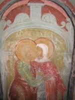 «Зачатие св. Анны». Местный ряд иконостаса Зачатиевского храма. Храмовая икона. Чудотворный образ.