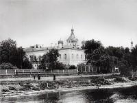 1913 г. Вид на киновию Александро-Невской лавры.