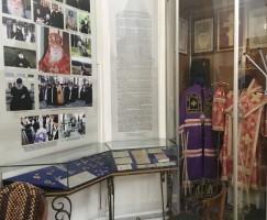 Музейная экспозиция в Казанском соборе Казанского женского монастыря, посвященная служению архиепископа Михея (Хархарова).