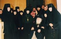 Владыка Михей и сестры Казанского женского монастыря города Ярославля.