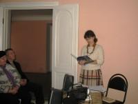 Литературно-музыкальная встреча, посвященная празднику Рождества Христова
