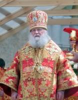 Богослужение перед Успенским собором в день празднования Собора Ростово-Ярославских святых 5 июня 2016 года.