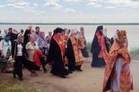 Крестный ход от Успенского собора к Спасо-Яковлевскому монастырю 5 июня 2016 года.