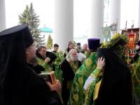 Встреча Крестного хода в Спасо-Яковлевском монастыре 5 июня 2017 г.