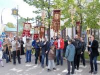 Крестный ход в день празднования Собора Ростово-Ярославских святых 5 июня 2017 г.