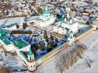 Спасо-Яковлевский монастырь: вид сверху