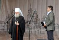 Обращение митрополита Пантелеймона к зрителям и участникам праздничного концерта 5 июня 2016 года.