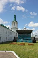 Сцена для праздничного концерта.
