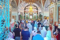 Троицын день в Спасо-Яковлевском монастыре 20 июня 2021 года