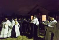 Великое освящение воды в Спасо-Яковлевском монастыре