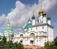 Храмы Спасо-Яковлевского монастрыя. 7 июля 2019 г. Уильям Брумфилд