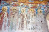Собор Зачатия св. Анны. Центральная апсида, северная стена с росписями XVII века. 8 июля 2019 г. Уильям Брумфилд