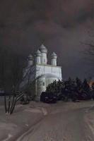 Спасо-Яковлевский монастырь в Крещенскую ночь 2021 года