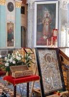 Десница великомученика Георгия Победоносца в Спасо-Яковлевском Димитриевом монастыре. 5 мая 2015 года