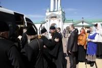 Прощание и отъезд из Спасо-Яковлевского монастыря