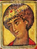 Св. Георгий оплечный. Кон. XII - нач. XIII в. Монастырь св. Екатерины на горе Синай
