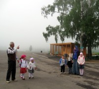 Утренний туман в Годеново