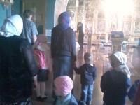 В храме св. Иоанна Златоуста