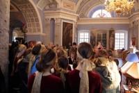 Детская Архиерейская капелла «Октоих» Екатеринбургской митрополии на Божественной литургии в Димитриевском храме Спасо-Яковлевского монастыря