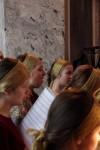 Детская </p> <p>Архиерейская капелла «Октоих» Екатеринбургской митрополии на </p> <p>Божественной литургии в Димитриевском храме Спасо-Яковлевского </p> <p>монастыря