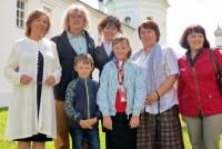 Фотография на память. Прихожане монастыря с Александром Шагановым.
