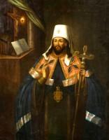 Икона святителя Димитрия Ростовского из собрания Ярославского художественного музея