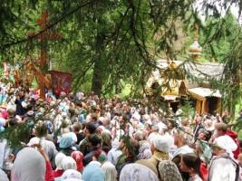 Участие в Иринарховском крестном ходе
