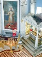 Рака святителя Димитрия в Димитриевском храме Спасо-Яковлевского монастыря