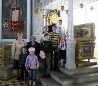 В Димитриевском храме у раки Святителя Димитрия